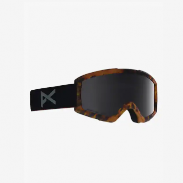 Anon Helix 2 TortiseSonar Smoke Snowboard Goggle w Spare Lens Amber