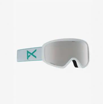 Anon Insight WhiteSonar Silver Snow Goggle w Spare Lens Amber