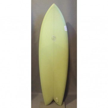 Bing Sunfish 58 Twin Fin Surfboard