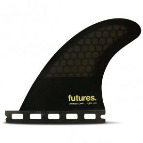 Futures Fins QD2 40 Honey Comb Quad Rear