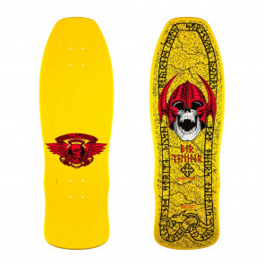 Powell Peralta Per Welinder Nordic Skull Skateboard Deck Yellow - 9715 x 2975