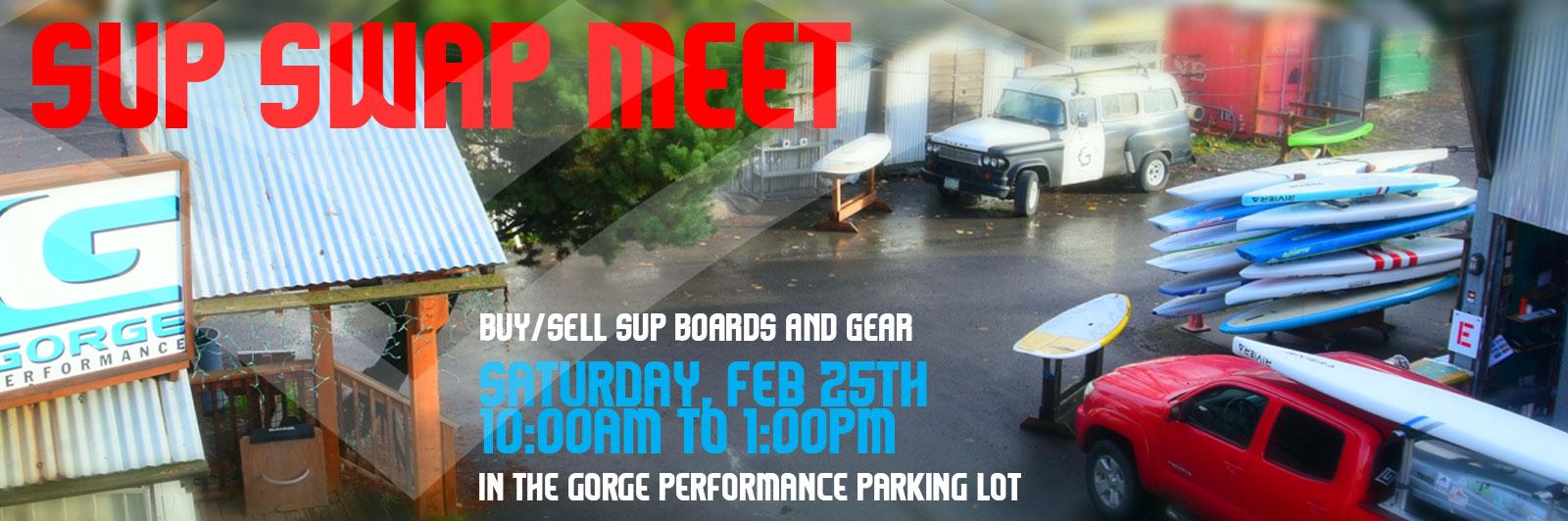 Gorge Performance SUP Swap Meet