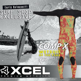 Xcel Comp X wetsuits