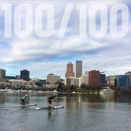 SUP 100/100 Challenge