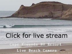 Cape Kiwanda RV Resort Cam
