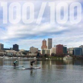 100 Paddle Challenge