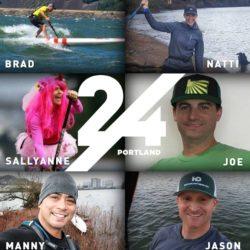 24 Hour Paddle Challenge - Portland